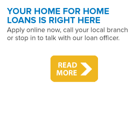 Your home for home loans is right here at Medina County Federal Credit Union.